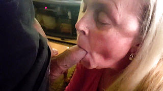 Friends mother wants all the cum