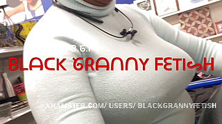 White Granny Fetish 125