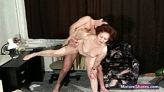 Busty mom loves cock