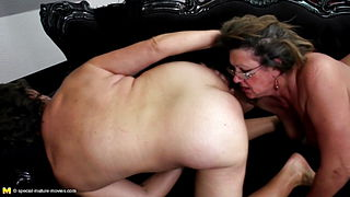 Big lesbian group sex with moms and daughters