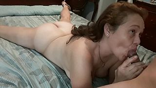 MILF loves anal, getting me ready Part 1
