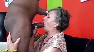 years old granny first time interracial fucked
