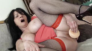 Mature European Dildo Solo